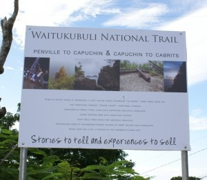 Construction works on segment 10 of Nat'l Trail Project underway