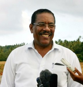 President elect Charles Savarin