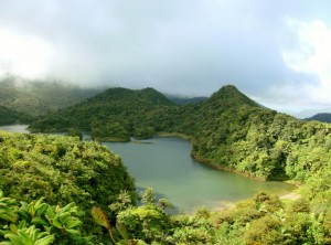 The Fresh Water Lake in Dominica