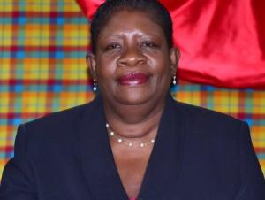 Community Development Minister Gloria Shillingford