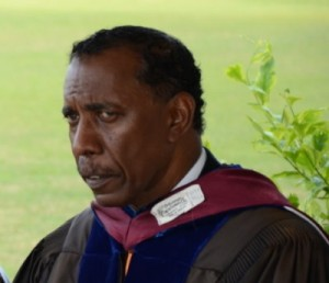 DSC president Donald Peters