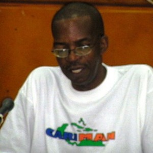 Thomas Holmes is president of CARIMAN Dominica's chapter