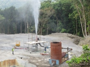 Geothermal activity in Dominica