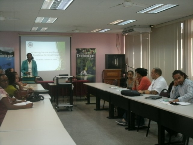 Participants at the workshop