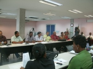 Participants at the workshop