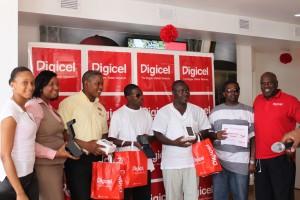 Winners in Digicel promotion