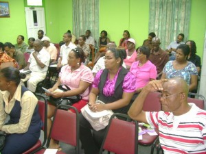 Participants of the consultation