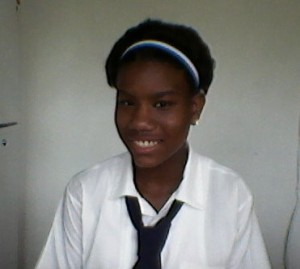 Evonna Johnique Renault said her goal is to become a doctor
