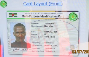 The matter of the National ID Card will be addressed by the PM