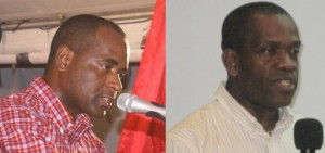 PM Skerrit and Lennox Linton