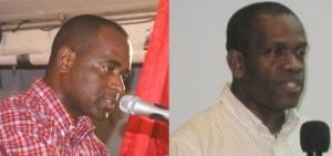 PM Skerrit and Lennox Linton