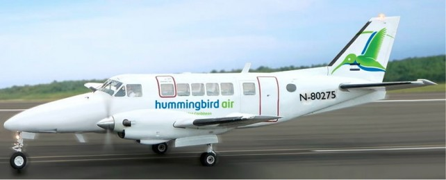 The new aircraft from HummingBird Air