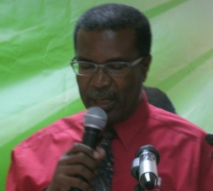 Timothy has just returned from an OECS health ministers' meeting in St. Vincent
