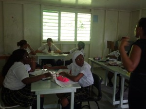 Students in Chinese Language Class at Orion Academy