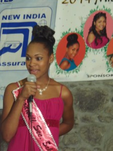 2014 Teen Pageant contestant, Deidra Cuffy