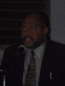 Tourism Minister Ian Douglas