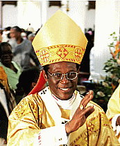 Kelvin Felix was archbishop of Castries, St. Lucia