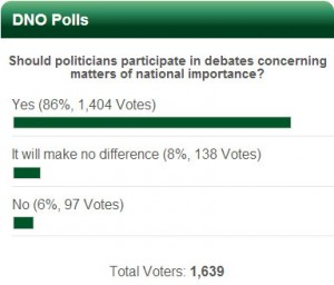 debate poll