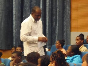 Skerrit told interns they should treat placements with the highest degree of commitment
