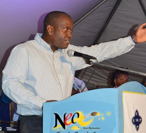 Linton has been challenging Skerrit to debate matters of national importance