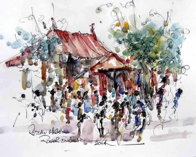 Roseau Market reduced