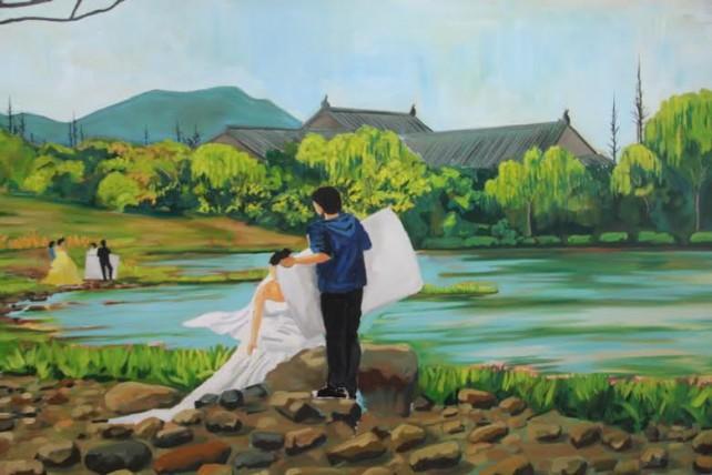 burton painting