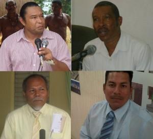 Those candidates: Irvince Auguiste, Garnette Joseph, Charles Williams, Jumadine Frederick