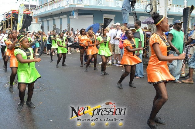 Scene on Carnival Tuesday