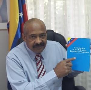 Pirela points to the Constitution of Venezuela