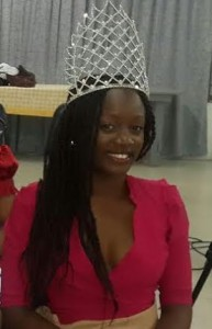 Dorsette told the pageant contestants to believe in themselves
