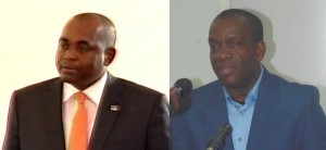 Skerrit (left) and Linton have both spoken on the sexual abuse matter