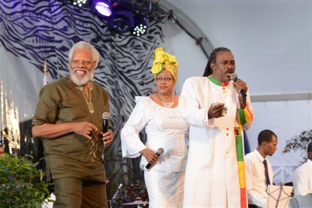"""IBO Cooper, OPHELIA and Anthony """"Gabby"""" Carter perform """"Reparations""""."""