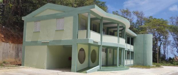The new Calibishie Police Station