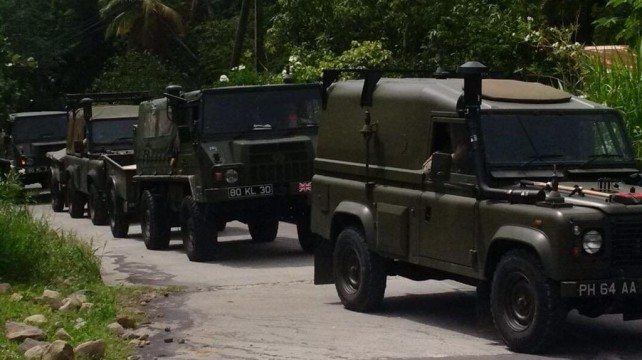 British vehicles in Dominica