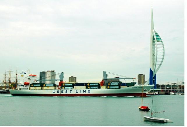 Geest Line's MV Clipper