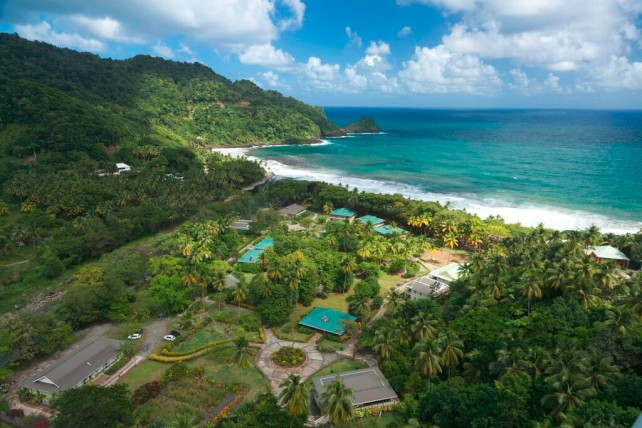 Rosalie Bay Resort is an eco-boutique and wellness resort in Dominica