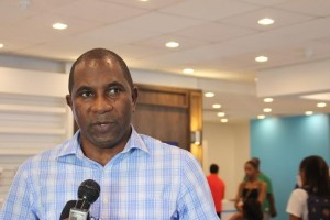 Jeffrey Baptiste is general manager of FLOW Dominica