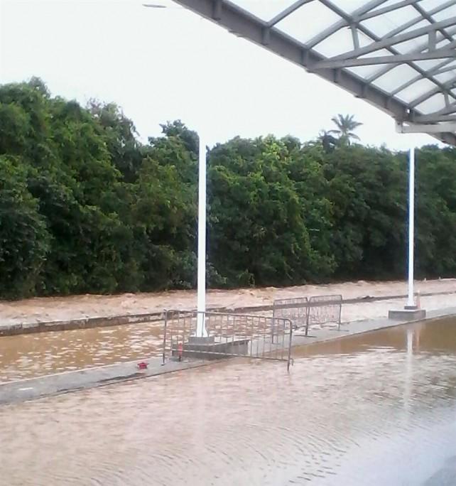 flooding at douglas charles
