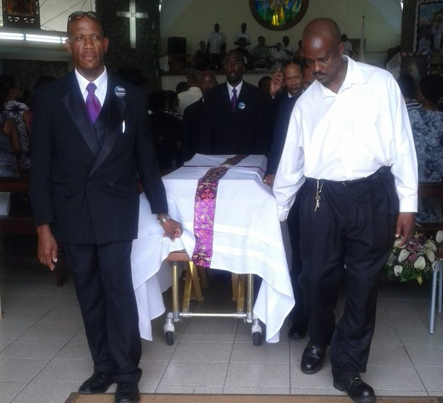 Credit Union Stalwart, Kenneth Richards, was laid to rest on Saturday