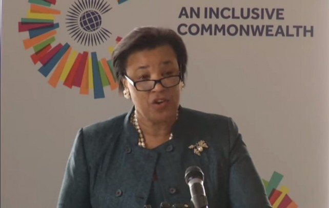 The meeting was hosted by Baroness Scotland, DG of the Commonwealth
