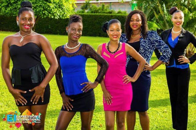 From left: Terisa Baptiste, Ausdell Prince, Nadia Boyd, Lisa Francis, Shermain Eustache