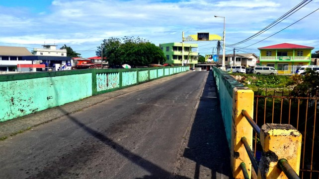 The West Bridge will demolished and reconstructed as part of the project