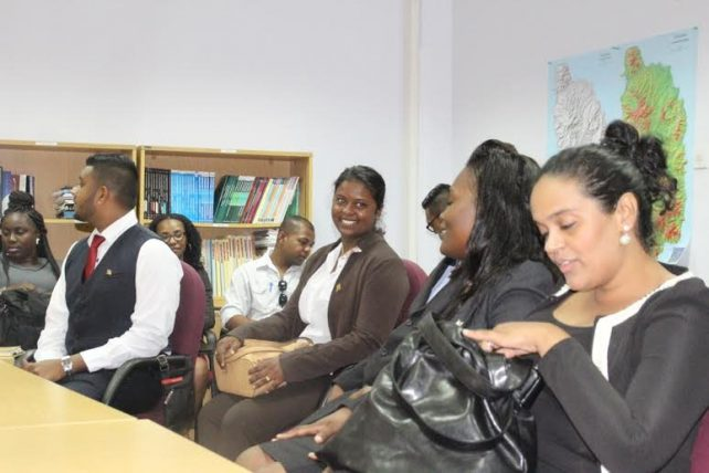The students are in Dominica to to study the implementation of the CSME