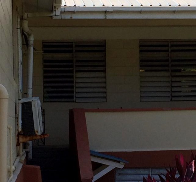The Marigot Hospital was shut down due to mold and fungus