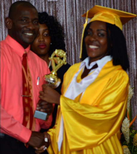 Salutatorian & Student of The Year, Chelsea Lawrence