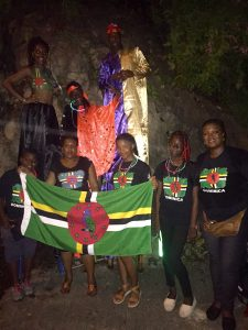 PHOTO OF THE DAY: Representing Dominica in Grenada