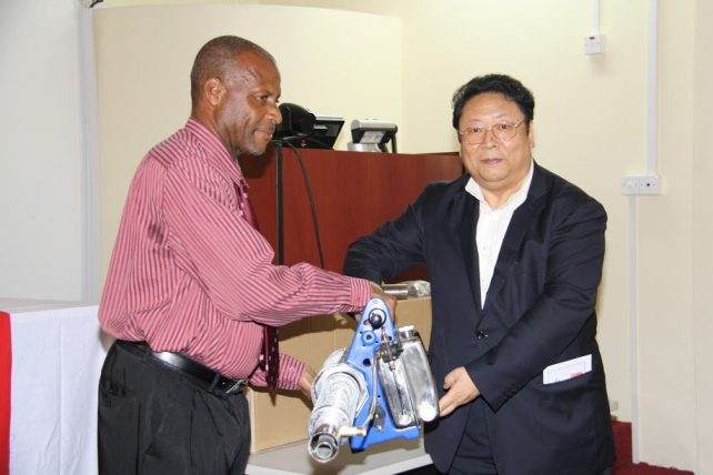 The donation is said to be a sign of the friendship between Dominica and China