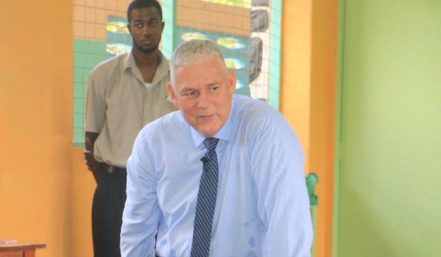 St. Lucia PM Allen Chastenet