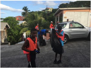 Operation Keep St. Joseph Clean – Clean Up Crew in action Of Corporate Life & Community Service