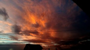 PHOTO OF THE DAY: Fire in the sky
